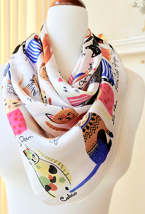 Cat Scarf for Cat Lover!