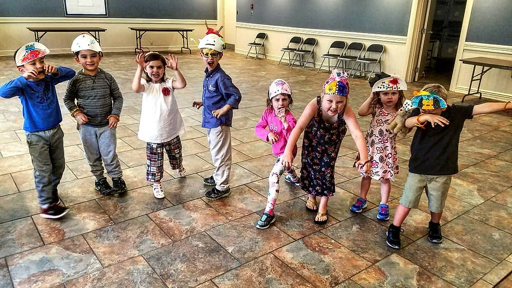 """Kids Theatre class performing """"Where the Wild Things Are"""""""
