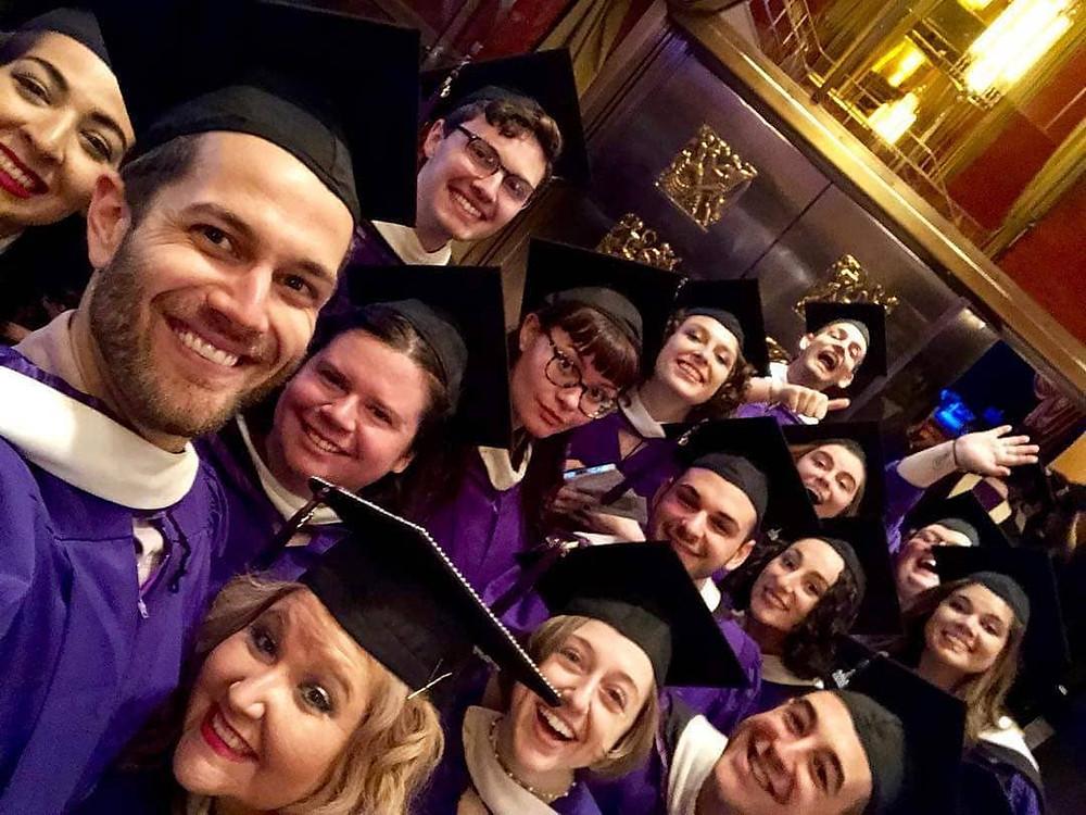 Radio City Music Hall graduation