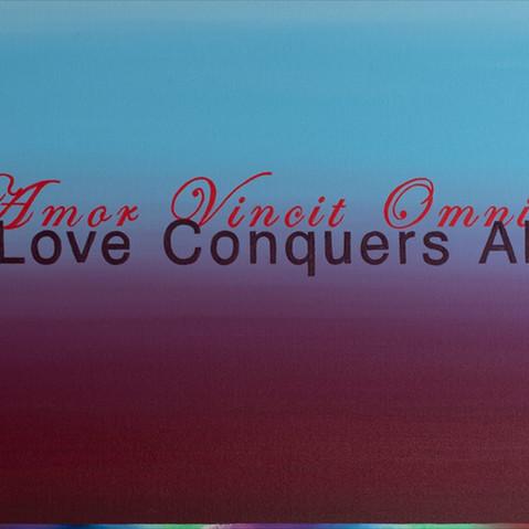 AMOR VINCIT OMNIA LOVE CONQUERS ALL