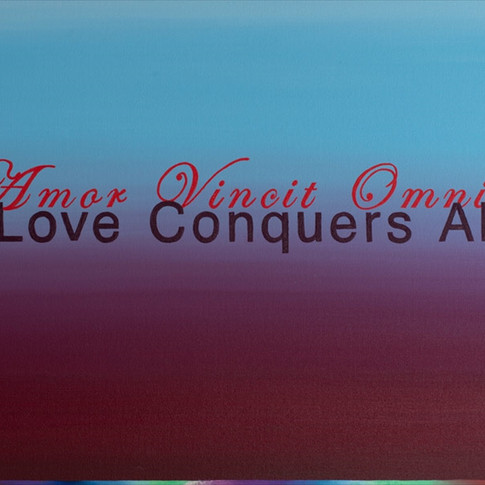 AMOR VINCIT OMNIA LOVE CONQUERS ALL