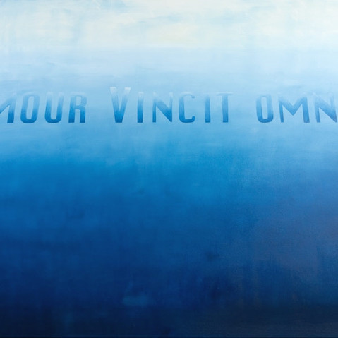 AMOUR VINCIT OMNIA - BLUE