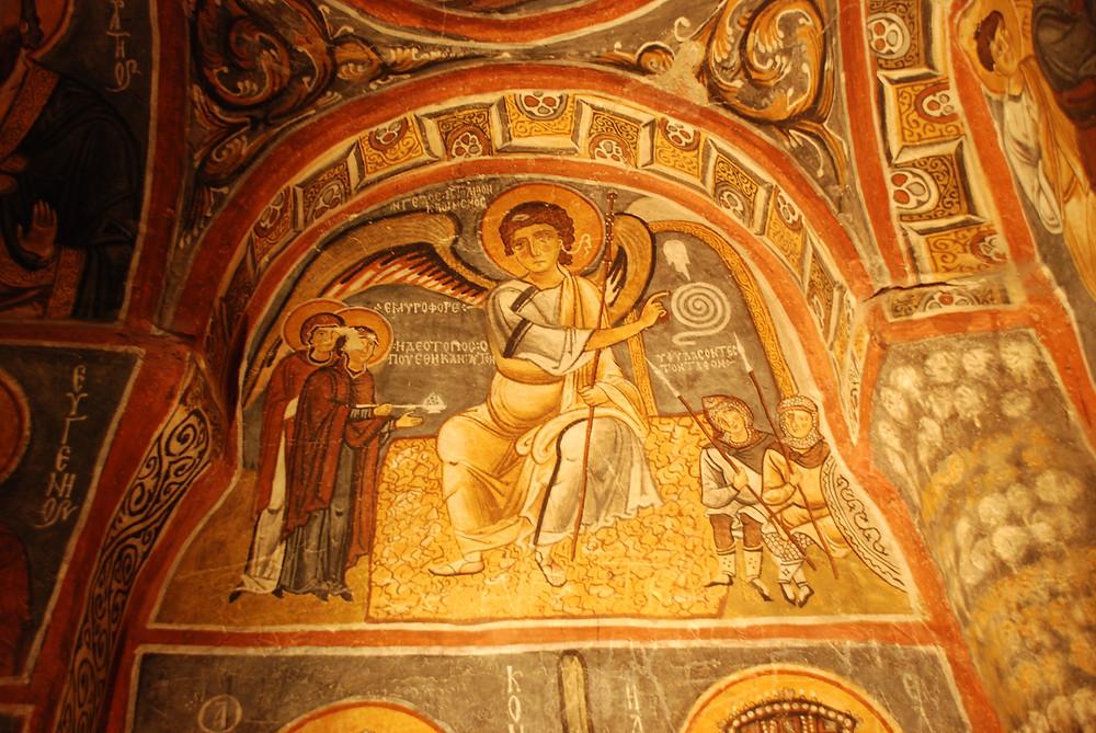 Dark Church -  Woman at the tomb