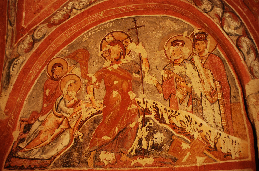 Sandal Church - Jesus' Descent into Hades (Hell)