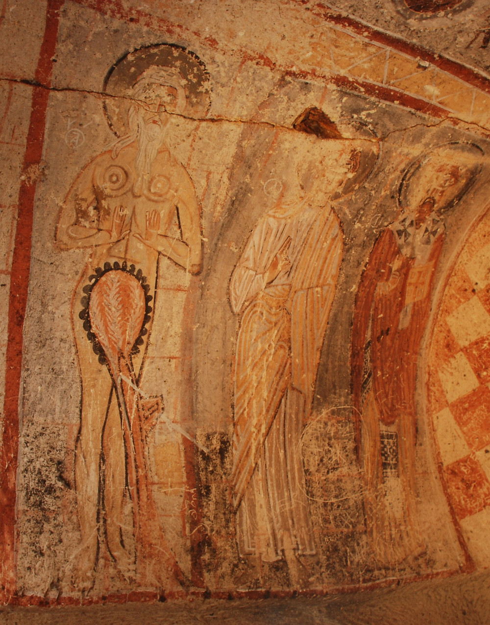 Serpent Chapel - St Onuphrius - St Thomas - St Basileos