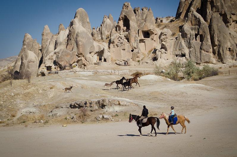 Hot Air Balloon, Cappadocia, Göreme, Horse ride, atv ride, hike, fairy chimneys