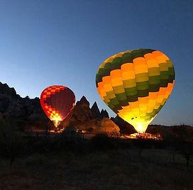 Hot Air Balloon : Cappadocia : Balloon : Take off : Göreme