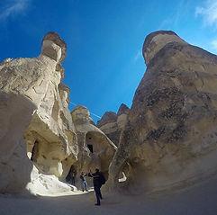 fairy chimney cappadocia balloon monks valley