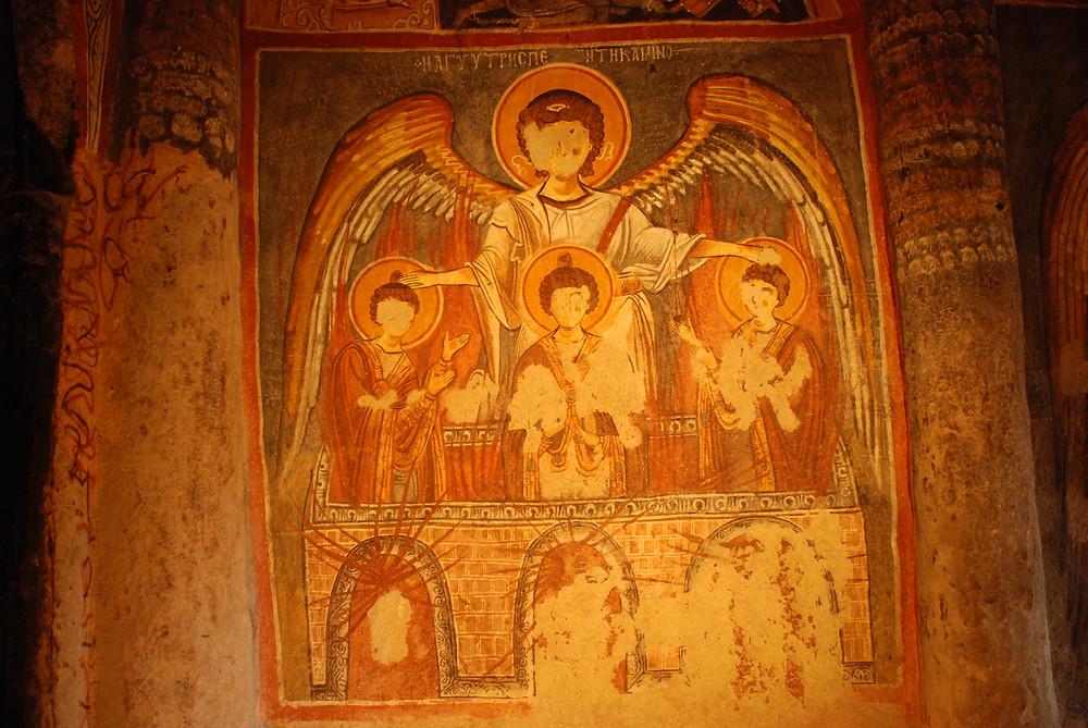 Dark Church - Three Young Men in the Fiery Furnace