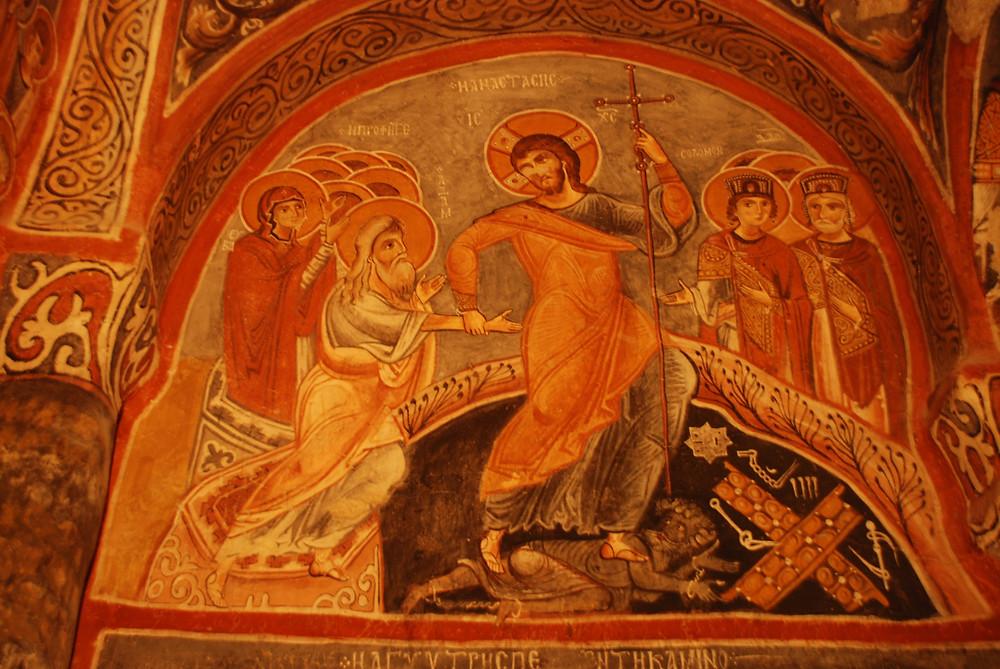 Dark Church - Jesus' Descent into Hades