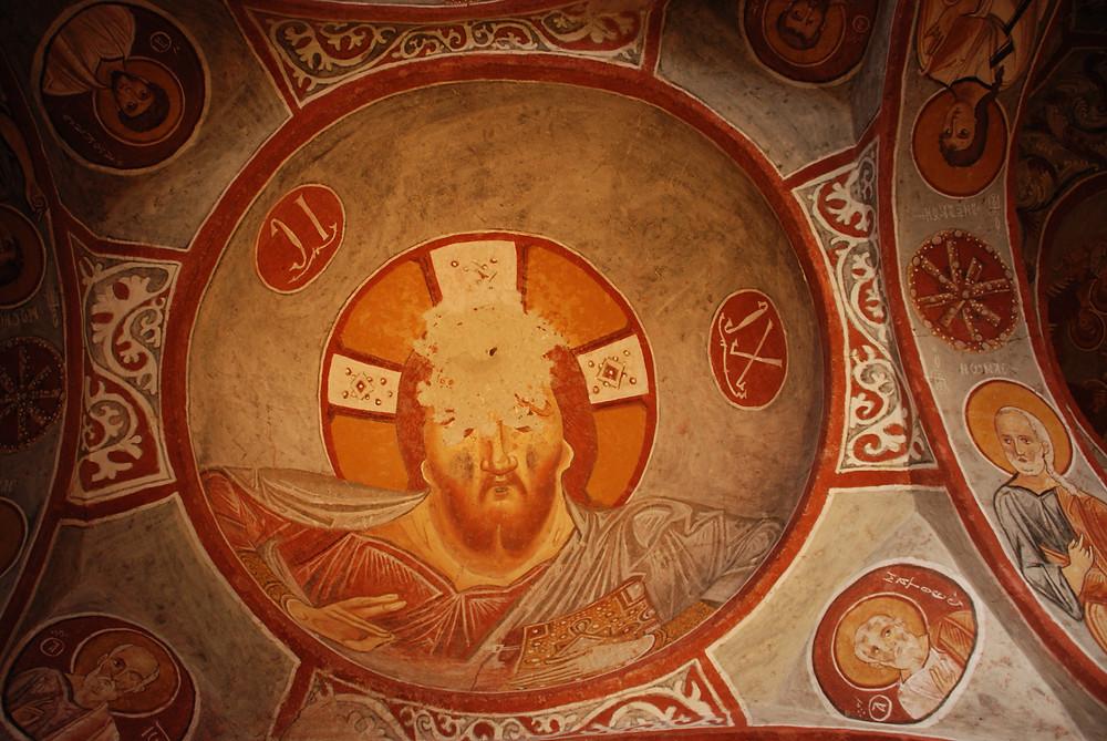 Apple Church -Jesus Pantocrator