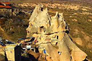 Hot Air Balloon : Cappadocia : Uçhisar : Fairy Chimneys