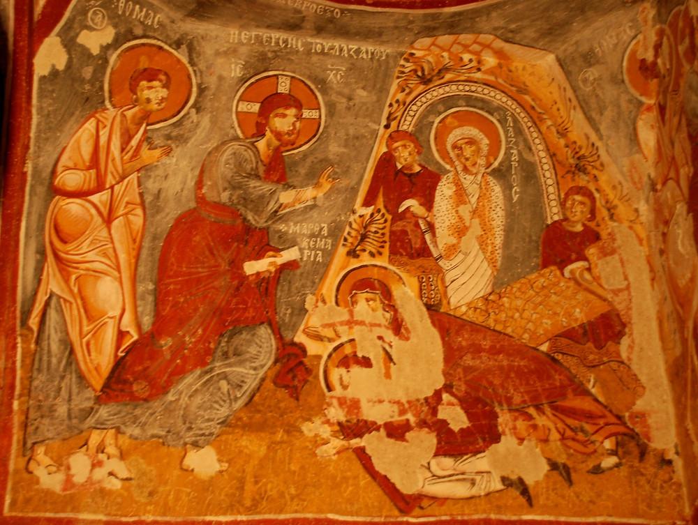 Apple Church - Raising of Lazarus