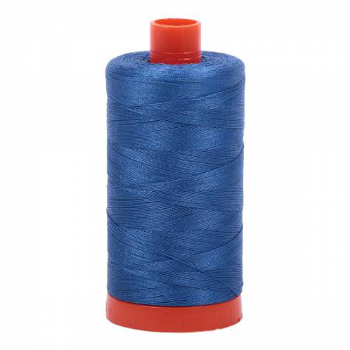 Aurifil 12wt Thread - Delft Blue - 2730
