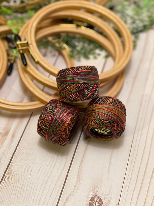 Wonderfil Perle Cotton - #8 - Silk Sari 1023