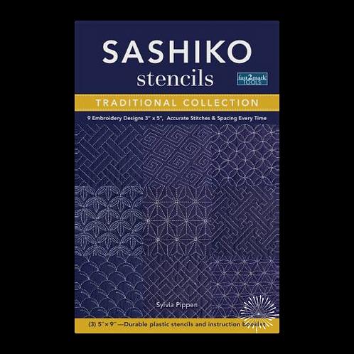 Sashiko Stencils Book