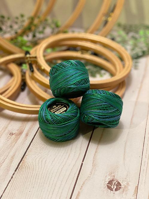 Wonderfil Perle Cotton - #8 - Lily Pond 1035