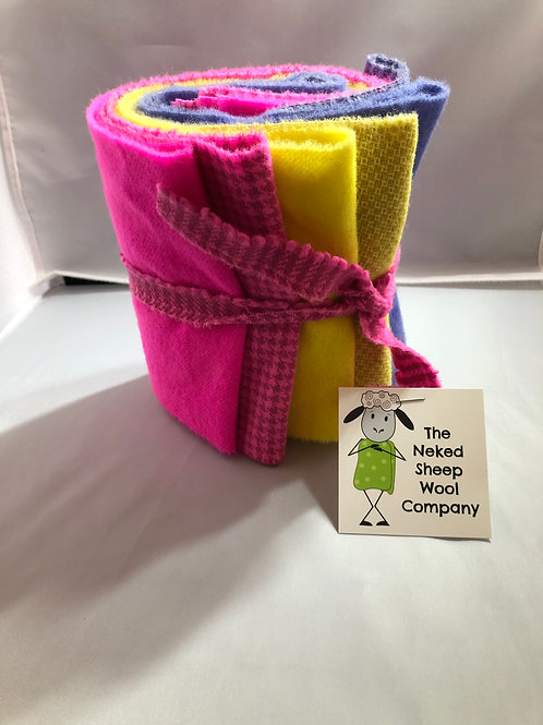Easter Bonnet Wool Roll