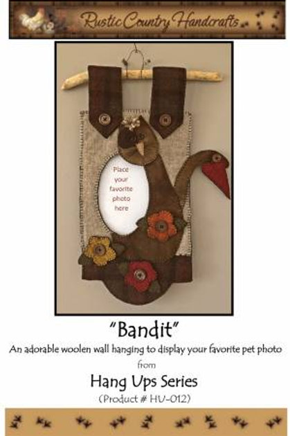 Rustic Country Handcrafts Bandit