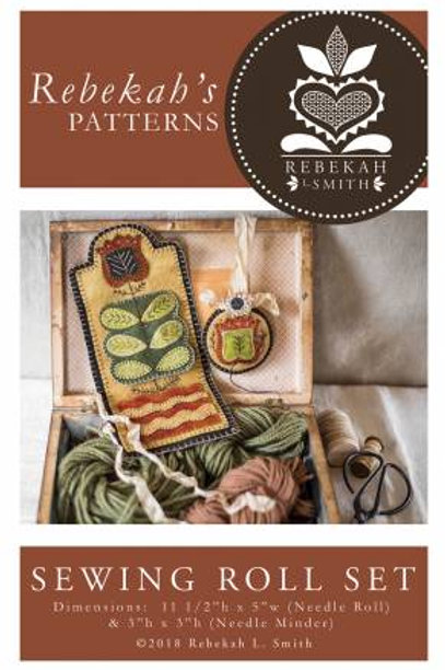 Rebekah's Patterns Sewing Roll Set