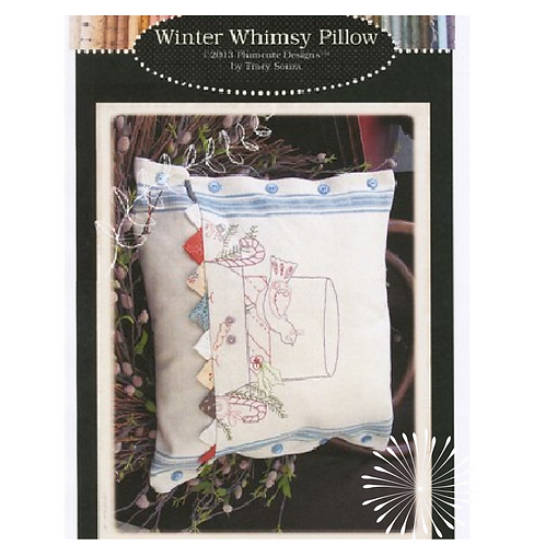Winter Whimsy Pillow - Pattern