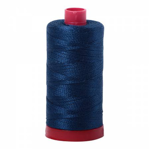 Aurifil 12wt Thread - Delft Blue - 2783