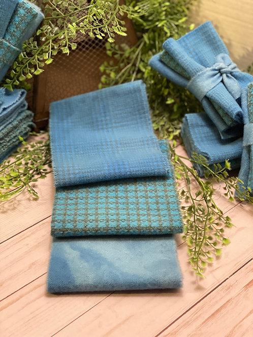 Wool Roll - 3 Blues