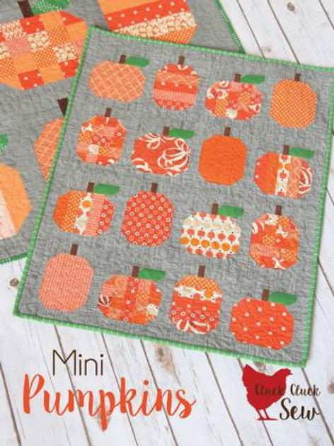 Cluck Cluck Sew Mini Pumpkins