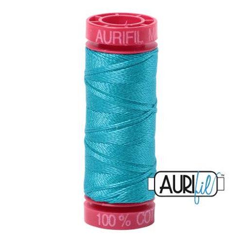 Aurifil 12wt Thread - Turquoise