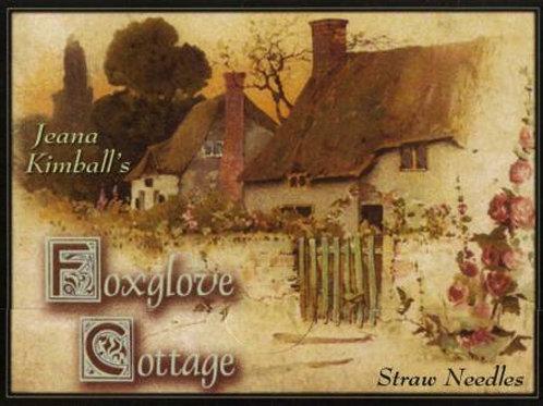 Jeana Kimball's Foxglove Cottage Straw Needles
