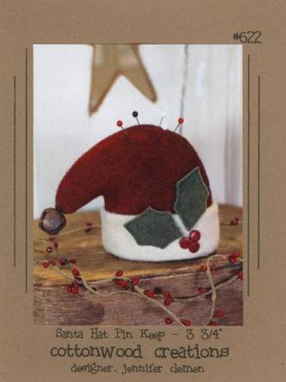 Cottonwood Creations ~ Santa Hat Pin Keep