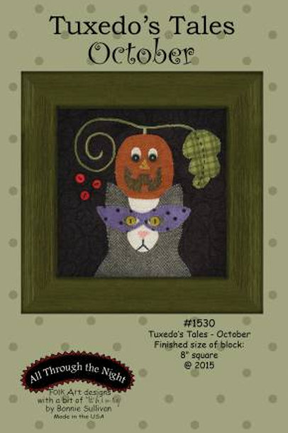 Tuxedo's Tales - October - PATTERN Only
