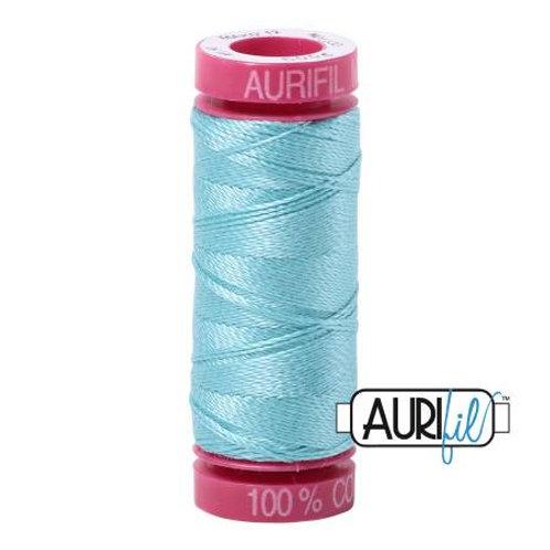 Aurifil 12wt Thread - Light Turquoise