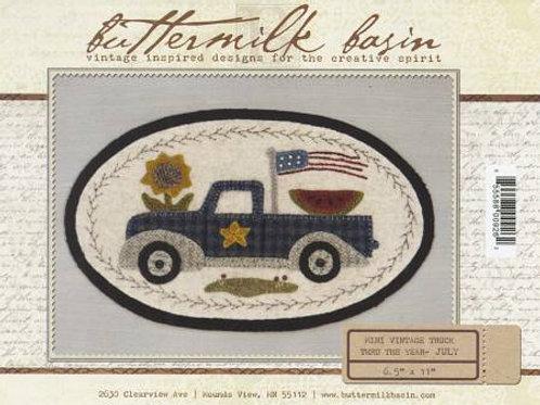 Buttermilk Basin Mini Vintage Truck - July