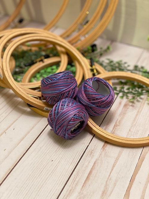 Wonderfil Perle Cotton - #8 - Northern Lights 1076