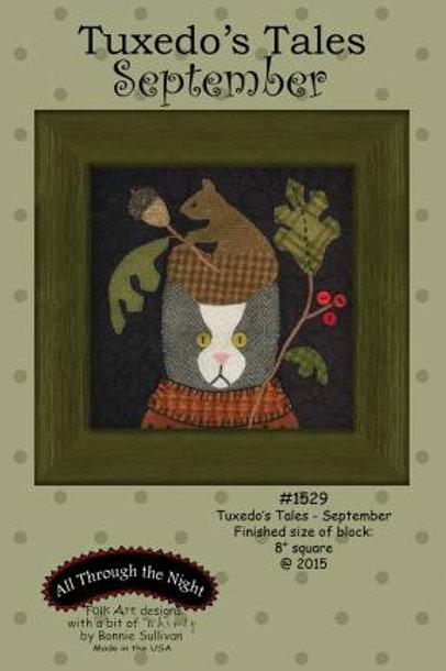 Tuxedo's Tales - September - PATTERN Only