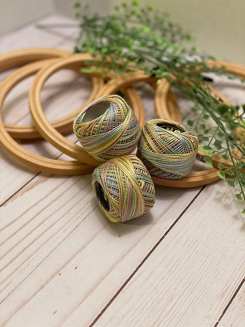 Wonderfil Perle Cotton - #8 - Egg Hunt 1047