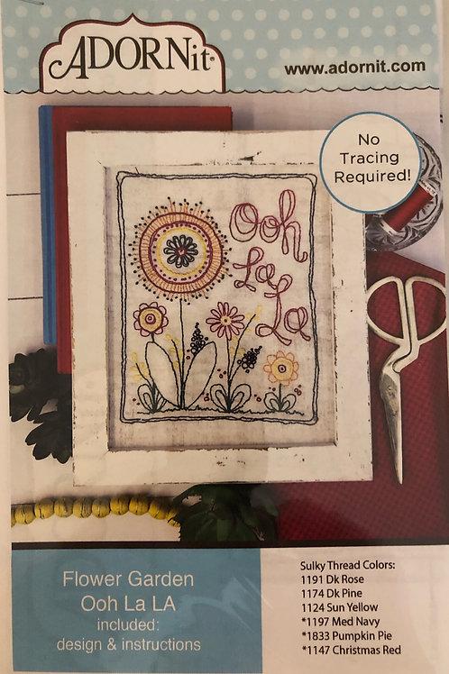 Flower Garden Stitchery: Ooh La LA