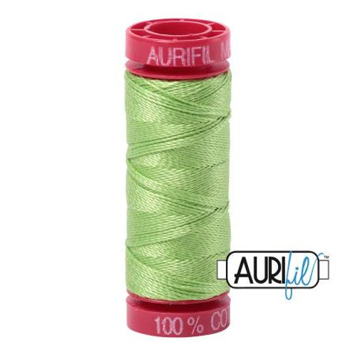 Aurifil 12wt Thread - Shining Green