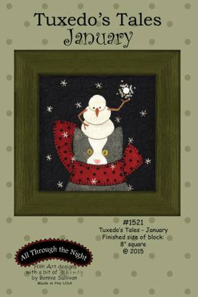 Tuxedo's Tales - January - Winter - PATTERN Only