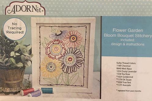 Flower Garden Stitchery: Bloom Bouquet