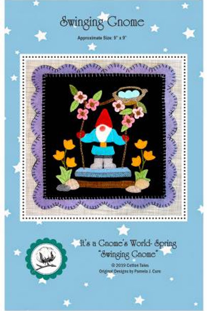 It's A Gnome's World - Swinging Gnome - Pattern