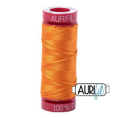 Aurifil 12wt Thread - Bright Orange