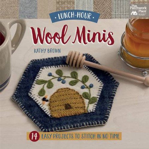 Wool Mini's by Kathy Brown