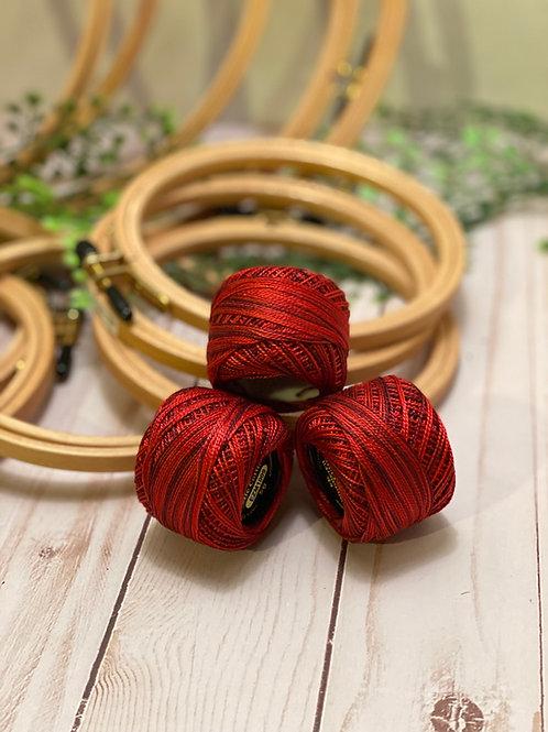 Wonderfil Perle Cotton - #8 - Heart Beat 1009