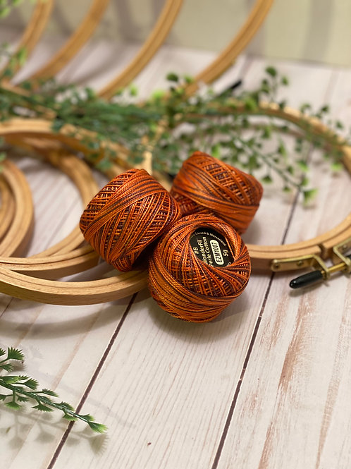 Wonderfil Perle Cotton - #8 - Harvest 1007