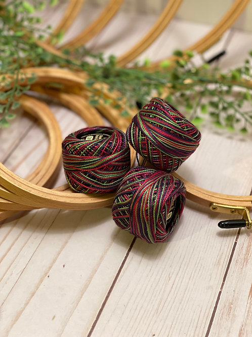Wonderfil Perle Cotton - #8 - Parrot 1097