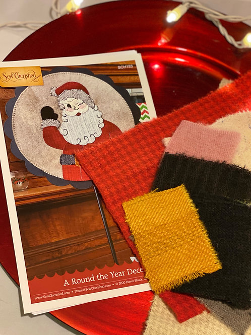 Sew Cherished - A Round the Year - December - KIT
