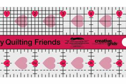 Creative Grids Ruler - I Love My Quilting Friends
