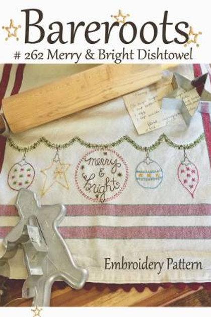 Bareroot Merry & Bright Dishtowel Kit